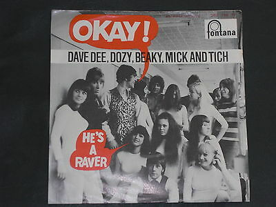 7-Single-Beat-DAVE DEE,DOZY,BEAKY,MICK AND TICH-Okay !