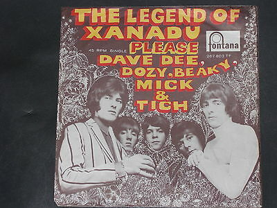 7-Single-Beat-DAVE DEE,DOZY,BEAKY,MICK & TICH-The Legend of Xanadu