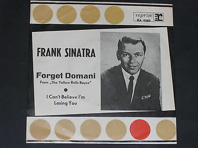 7-Single-60er-Film-FRANK SINATRA-Forget Domani