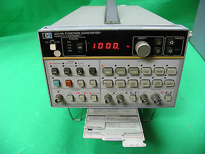 HP AGILENT KEYSIGHT 3314A Programmable Multi-Waveform Generator 0.001Hz to 20MHz