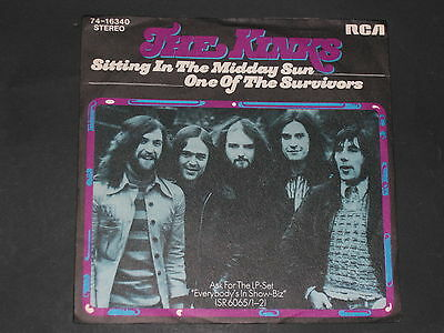 7-Single-Beat-Rock-THE KINKS-Sitting in the midday sun