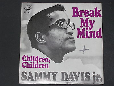 7-Single-60er-SAMMY DAVIS JR.-Break my mind