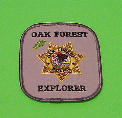 Oak Forest  Illinois  Il  ( Explorer )   Police Patch   Free Shipping!!!