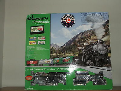 Wegmans Steam Freight complete electric train set 6-30203 New in Box