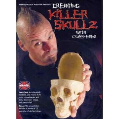 "DVD Creating Killer Skullz with ""Cross-Eyed"" 220 023"