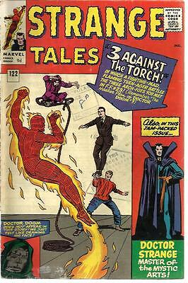 Strange Tales 122 Dated July 1964. Very Good Condition.