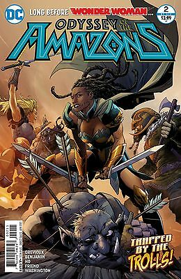Odyssey Of The Amazons #2 (Of 6) Comic Book 2017 - DC