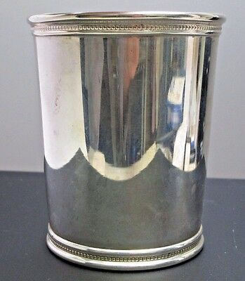 Sterling Silver Presidential Mint Julep Cup    Kentucky Derby