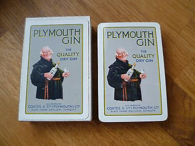 Plymouth Gin Waddington playing cards - sealed