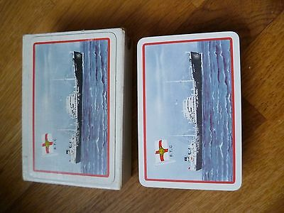 British Tanker Company playing cards, unused