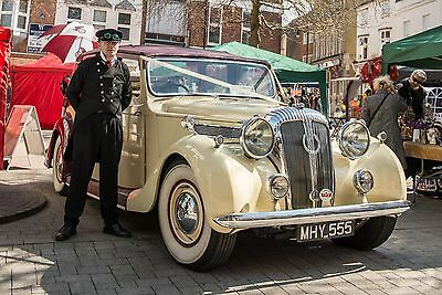 Vintage,Classic 1950's Wedding Car Hire  PROM Motion GIANT LIMO Basingstoke area