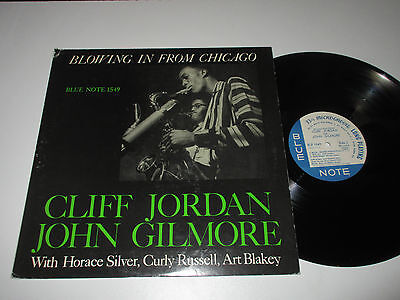 LP/CLIFF JORDAN/JOHN GILMORE/BLOWING IN FROM CHICAGO/Blue Note BLP 1549