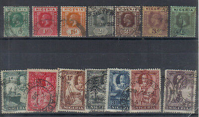 Nigeria George V Used collection