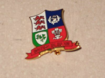 BADGE British Isles XIII Rugby League Red Bottom