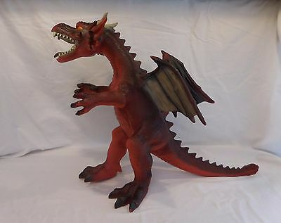 """Dragon 2014 Large Toy Major Toy R Us Rubber Water Dragon 18"""" x 27"""""""