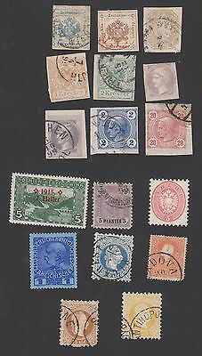 Austria F-Vf Offices Abroad Turkey  Newspaper Stamps Etc   (Fay14