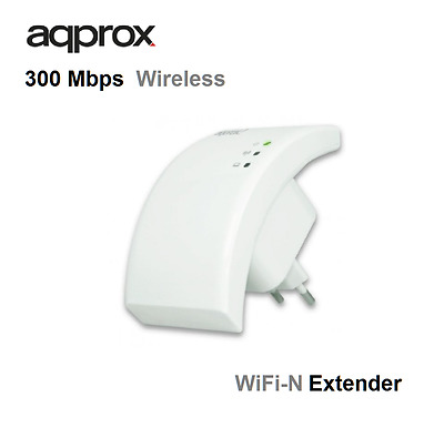 Approx Repetidor Inalámbrico N-Lite 300 Mbps - wifi N EXTENDER