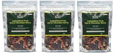 3 pk Archer Farms Antioxidant Fruit, Nut & Chocolate Berry Trail Mix 9 oz