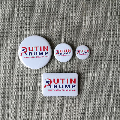 ANTI TRUMP / PROTEST / BUTTON PIN BADGE / 25mm / 32mm / 56mm / 60mm