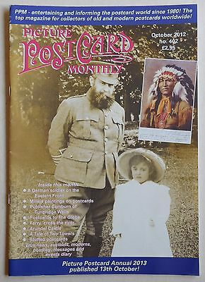PICTURE POSTCARD MONTHLY Magazine #402 - October 2012
