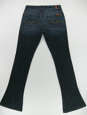 SEVEN 7  FOR ALL MANKIND  KAYLIE   SLIM BOOT CUT  Dark Wash  jeans size 27/33
