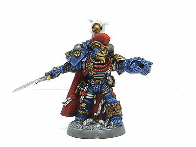 ULTRAMARINES CHAPTER MASTER / COMMANDER  Painted Warhammer 40K Space Marine Army
