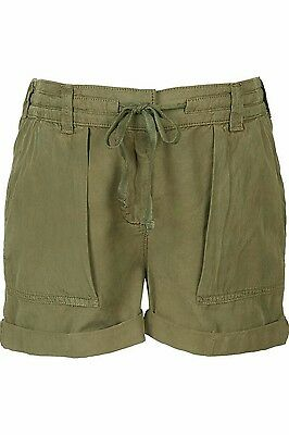 BNWT Topshop Maternity Utility Shorts RRP £34, Size 10