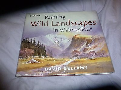 PAINTING WILD LANDSCAPES IN WATERCOLOUR - DAVID BELLAMY (hardback)