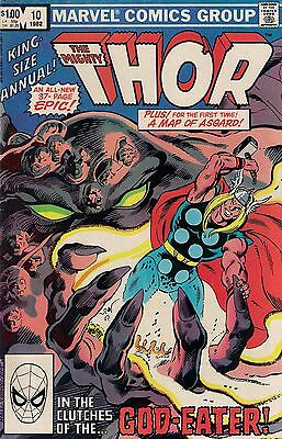 THOR ANNUAL # 10    MARVEL COMICS    1982    vf