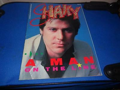 Shakin' Stevens Shaky A Man On The Line A Disco 45 Hotpop Special 1985
