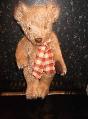 Bluebell Artist Teddy Bear  With Growl Made In Great Britain 15 Inches Tall Vgc