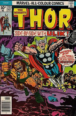 THOR # 253    MARVEL COMIC    1976    fine