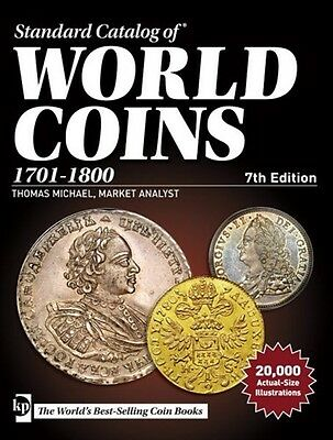 Krause Standard Catalog Of World Coins 1701-1800 7Th Edition