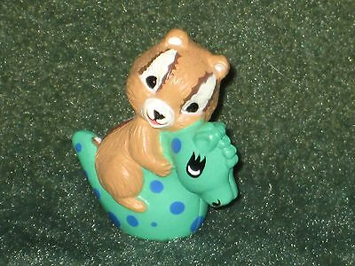 Hallmark Merry Miniature 1993 Chipmunk on Seahorse - Everyday Summer - NEW