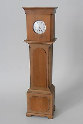 Vintage Well Detailed Longcase  Wooden Pocket Watch Holder