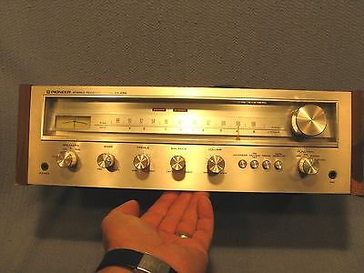 Pioneer SX-450 Stereo Receiver. Clean And Working