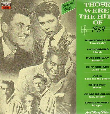 LP Kingston Trio, Fats Domino, ... Those Were The Hits Of 1959 NEAR MINT EMI