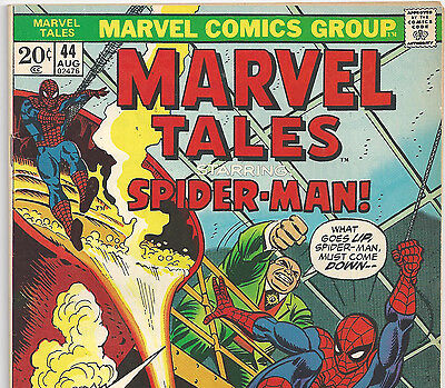 The Amazing Spider-Man #61 Reprint in Marvel Tales #44 from Aug. 1973 in Fine-