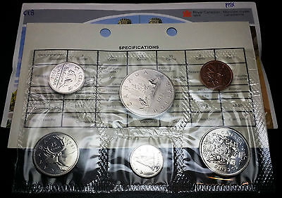 1981 Canada Sealed Uncirculated Set - In Original Packaging With Coa