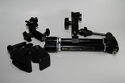 Manfrotto 143 Arm with Manfrotto TUV clamp bracket
