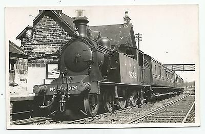 POSTCARD-SCOTLAND-KELSO-RP. Locomotivs in The Station. Dated 6/05/1927.