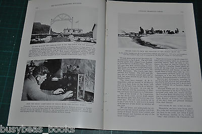 """1936 magazine article CANADA""""S NORTH, at least s typicsl American  viewpoint"""