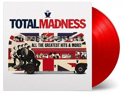 MADNESS Total Madness LP Vinyl NEW Limited RED Numbered