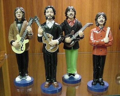 Beatles LET IT BE Rooftop Figures Doll Import Set Only 500 Made Almost Sold Out