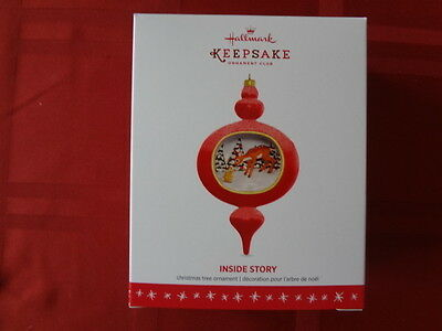 Hallmark Ornament The Inside Story Series #1 2016 Member Exclusive Mint In Box