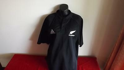 New Zeland All Blacks Adidas Jersey Great Cond Size L