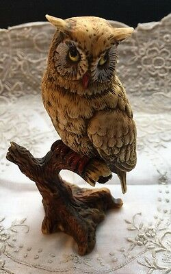 "Vintage 3-1/2""  Comoy's Of London Made In Italy Owl Figurine"