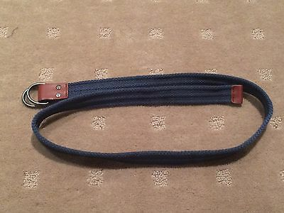 Boys Navy Woven Belt - Adjustable  -  Great Condition Worn Once