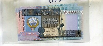 Kuwait 1 Dinar 1994 Currency Note Lot Of 5 Consecutive Cu 4995D