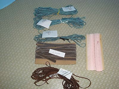 Antique Vintage Lace Trims for Dolls Other